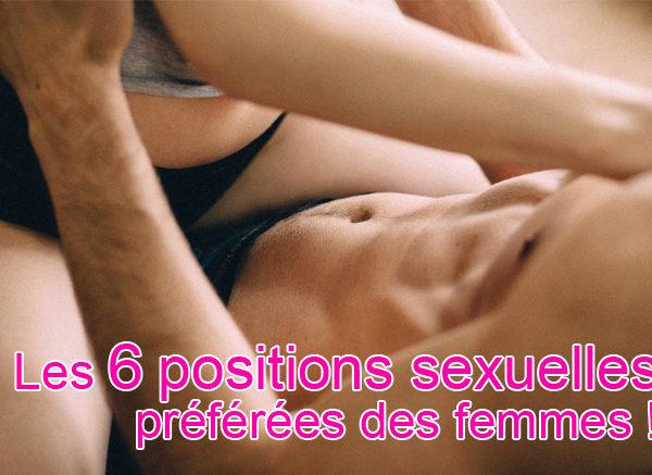 Quelle est la position sexuelle préférée des femmes ?